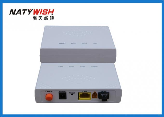 ZTE Chipset GPON ONU Router 1GE Single Port For FTTH Support CLI WEB Management