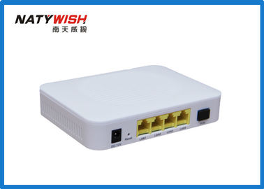Triple Play GEPON ONU High Efficiency 1GE + 3FE Ports Low Power Consumption