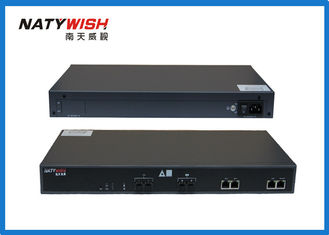 Rack Mount Ethernet Passive Optical Network OLT For CATV Broadband Network