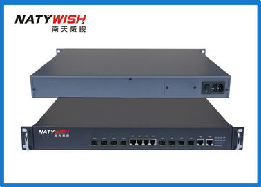 64Kbps Bandwidth GEPON Optical Line Terminal Equipment 4 PON Port For Private Network