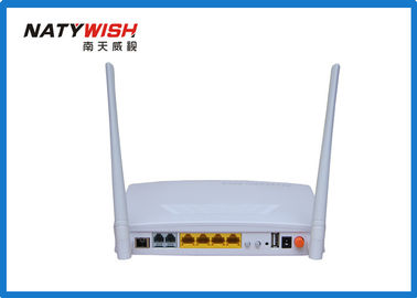 600MHZ CPU GPON Wireless Router Plug And Play 4 * 1000M Ethernet 2 * FXS Ports