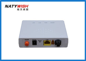 China ZTE Chipset GPON ONU Router 1GE Single Port For FTTH Support CLI WEB Management supplier