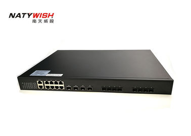 High Reliability With 216G Switching Capacity 4 * 1.25G SFP Slots 10G EPON OLT   FTTX Device