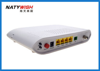 Single Fiber AC 220V 50HZ GPON ONU Router , GPON WiFi Router For Broadband Access