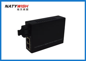 1310nm Convenient Fiber Media Converter , Multifunctional Multimode Media Converter