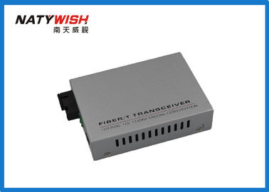 High Reliability Fiber Optic Media Converter Singlemode WDM 40km For FTTH