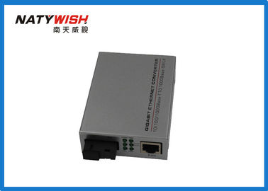 Single Mode Single Fiber Media Converter 20KM 1310 / 1550NM For Network Centre