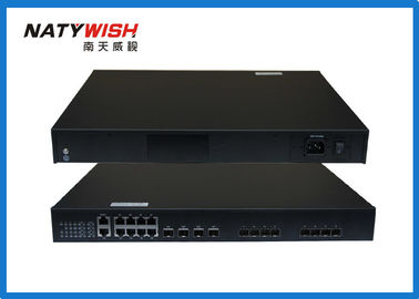 216Gbps Switching Capacity EPON OLT , High Reliability Black GEPON OLT