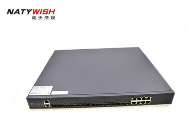 100Mpps GPON Optical Line Terminator Switch 8 * 10 / 100 / 1000M RJ45 Ports 4 * 1.25G SFP Slots