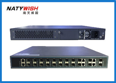 140Gbps Switching Capacity 10G GPON OLT , 16 PON Ports 1U FTTH GPON OLT