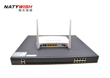 High Speed Rate 8 Port GPON OLT Switch 8 * 1.25G GE Ports 4 * 10G Uplink Optical SFP Slots