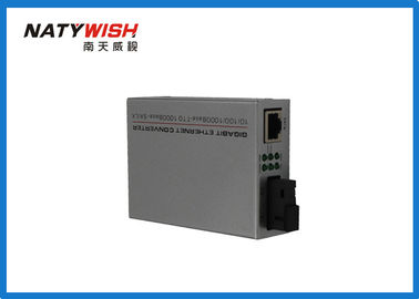 Gigabit Singlemode Single Fiber  BIDI Media Converter 40KM 1310 / 1550NM