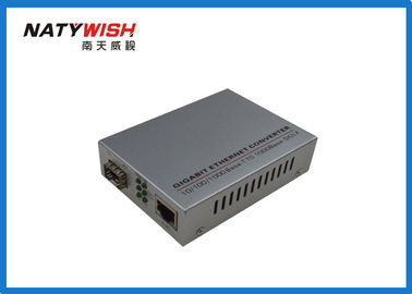 Smart Gigabit Ethernet Fiber Media Converter High Durability With Low Power Consumption
